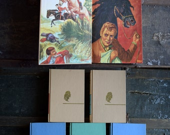 Vintage Childrens Books - The Children's Classics - Set of 5 - Hardcover Books - J.G Ferguson Publishing Company