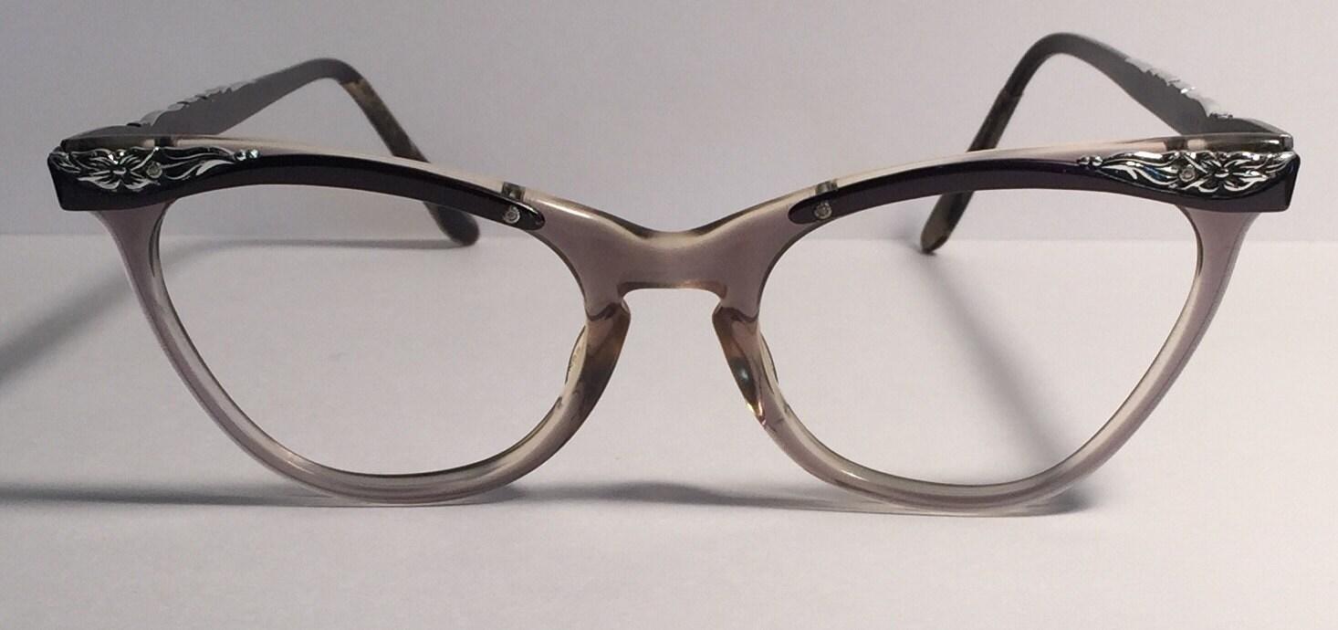 vintage eyewear cat eye style liberty made in usa