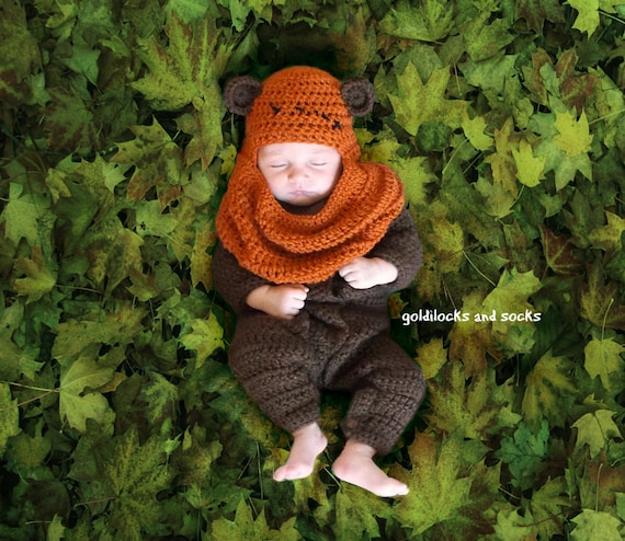 Star Wars Handmade Ewok Costume for Babies