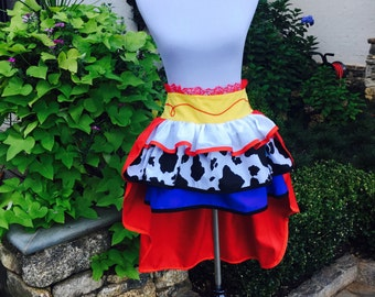 Toy Story's Adult Jessie skirt! …Premium Two Layered Skirt… Halloween Costume..Matching Family Costume….