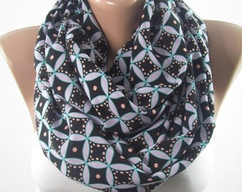 Infinity Scarf Geometric Scarf Scarf Valentines Day Christmas Mothers Day Gift For Mom Fashion Travel Gift For Her Gift for Grandmother Wife