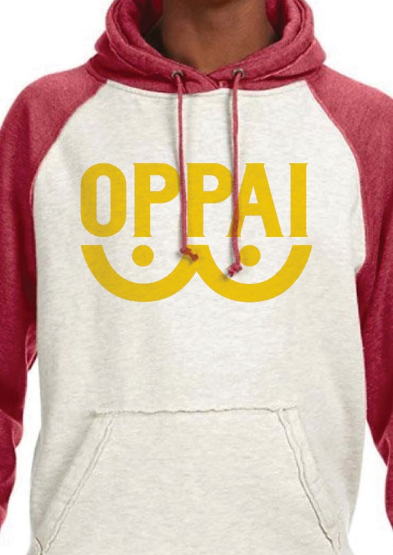 Oppai a one punch man inspired parody logo hoodie by clutchitout