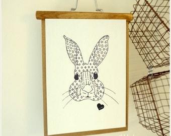 Bunny Print