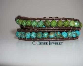 Handmade Double Wrap Bracelet