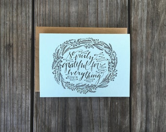 So Grateful Cards, Wedding Thank Yous, Thank You Cards Set,