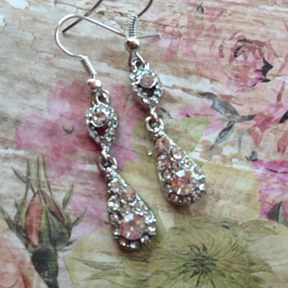 Wedding Gift Jewelry Suggestions : Rhinestone Earrings Jewelry For Her Gift Ideas Jewelry