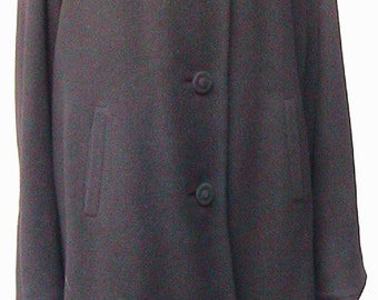 Large Long Wool Coat Hand Tailored in Hong Kong