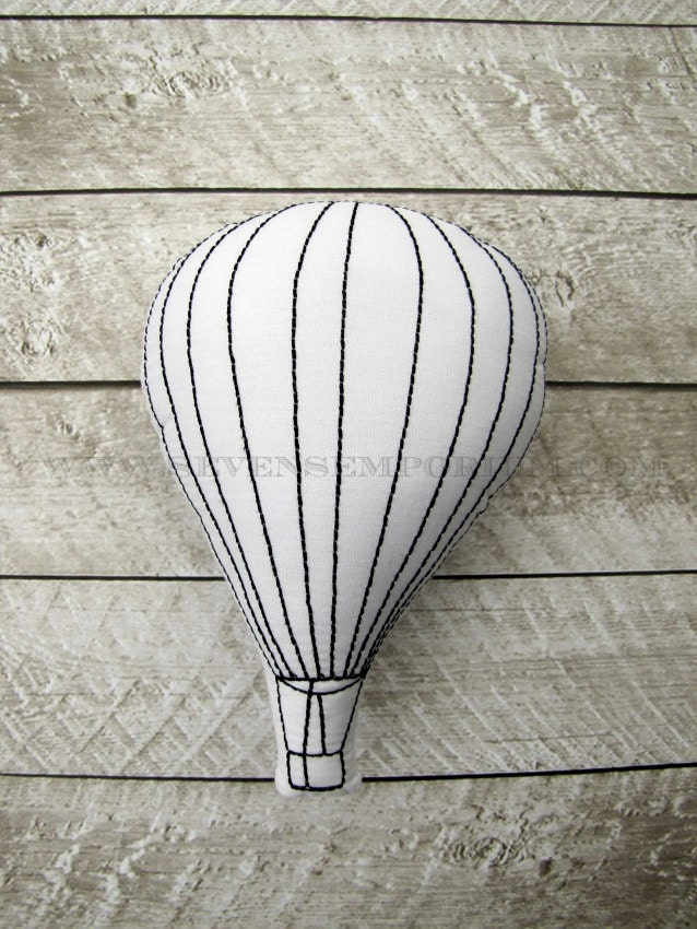 Hot Air Balloon In The Hoop Doodle-It Machine Embroidery