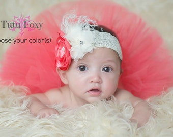 Newborn Tutu Set, Newborn Tutu, Newborn Tutu with Headband, Baby Tutu, Baby Tutu with Headband, Baby Tutu Set