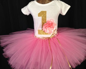 First birthday tutu outfit, Smash cake outfit, girl's birthday outfit, first birthday tutu, birthday outfit for girl, smash cake outfit