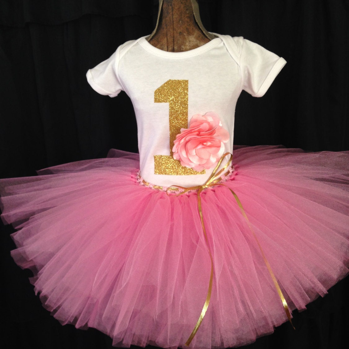 First Birthday Tutu Outfit Smash Cake Outfit Girl's