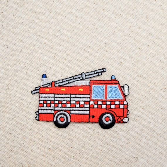 Fire Truck-Patch Jo-Ann