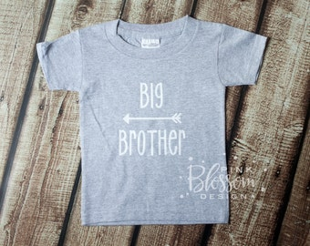 Big Brother Shirt, Big Brother, Brother Shirt, Big Brother, Little Brother, Baby Boy, Sibling, Baby Announcement
