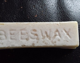 Natural Beeswax for Smooth Beading