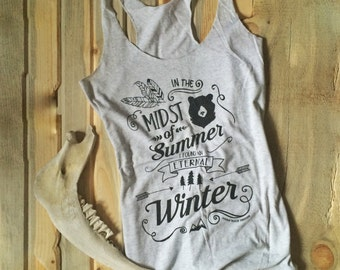 Eternal Winter Racerback Tanktop