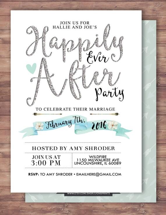 Open House Wedding Reception Invitation Wording with beautiful invitation ideas