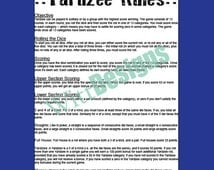 Refreshing image inside free printable yardzee rules