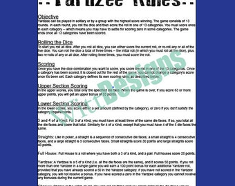 card games rules and instructions