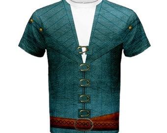 Men's Flynn Rider Tangled Inspired Shirt