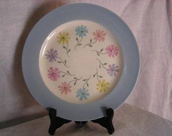 Steubenville Luncheon Plate Pattern 1296 (Blue)