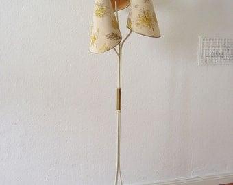 Lovely Mid Century Modern Floor Lamp J.T. KALMAR Austria | Josef Frank | Rupert Nikoll Era | 1950s