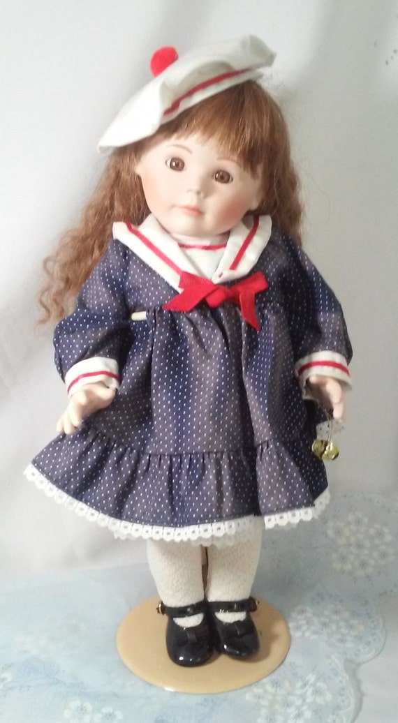 Collectible Porcelain Doll Vintage Tarko Limited Edition