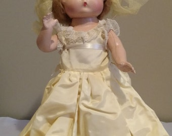 """Vintage 12"""" Composition Patsy Type Doll"""
