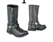 Crousir Boots-Water repellant PU Leather upper-Motorbike-R-Pro-Fashion Biker