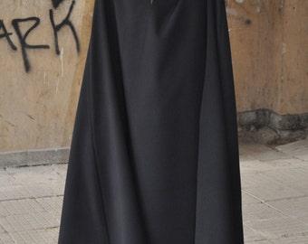 Plus Size Maxi Dress, Long Dress, Long Georgette Dress, Black Maxi Dress, Party Dress by EUG fashion