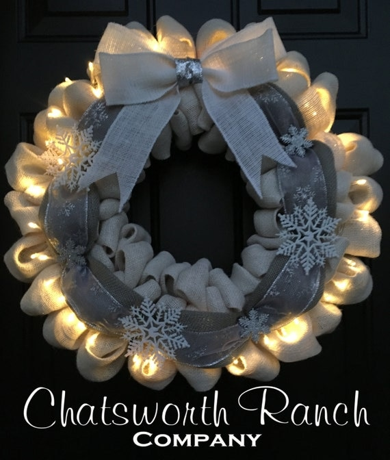 Lights Add On For Any Wreath Everyday By Chatsworthranchco