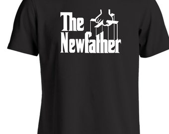 The new father T Shirt a parody of the Godfather films Gift idea for a new dad