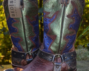 Western, Boot, NEW Size 7.5 ~ HAWKED UP Bed Stu Women's Cisalpine Western Boot