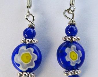 Fun flowery earrings
