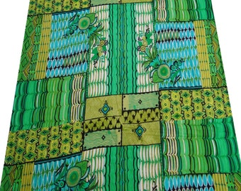 Green Printed Fabric For Sewing Decorative Fabric For Quilting Craft Supplies Dressmaking Material fabric By The yard ZBC4873