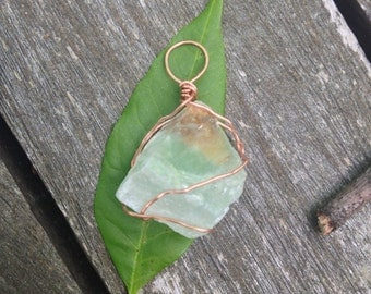 Mini Green Fluorite Pendant