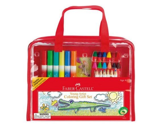 Kids Coloring Set Faber Castell Kids Gift Toddler Gift