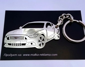 Ford Mustang, Ford keychain, Ford, ford mustang keychain, car keychain, personalised keyring, Ford Mustang Custom Keychain, birthday gift