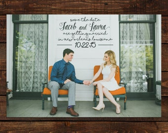 Photo Save the Date - Style 02 - Custom Save the Date Design, Print or Download