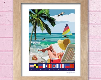 PRINT - Clearwater Beach, Florida (3 sizes)