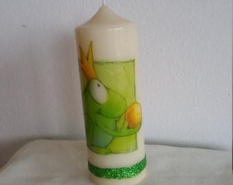 Frog Prince candle