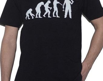 Handyman Evolution DIY T-Shirt Ape to Carpenter - Chippy - Carpentry Builder