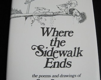 Where the Sidewalk End, the poems and drawings of Shel Silverstein, 1974