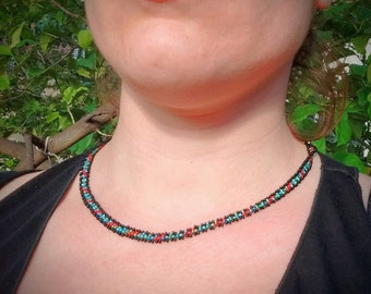 Colors beads necklace