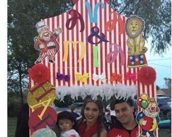 Circus Theme Customized Photo Frame