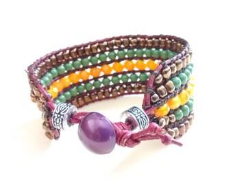 5 Row Bracelet