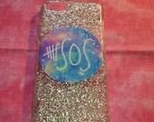 5SOS Glitter Tumblr iPhone 5/5c/5s Case