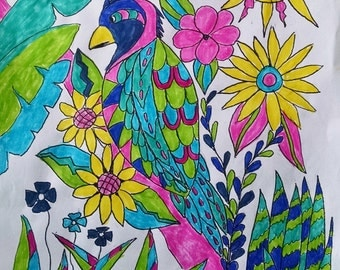 Less Stress adult coloring books