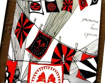 Cynicism Postcard * Portable Fortitude
