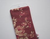 Vintage Roses Case iPhone 4 4s 5 5s 6 6s 6 Plus 6s Plus iPod Classic HTC One A9 M9 LG G4 Galaxy S6 Sony Xperia Z5 Compact Nexus 5X 6P Sleeve