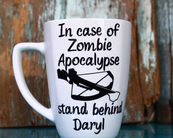 Zombie Apocalypse Daryl Coffee Mug, The Walking Dead
